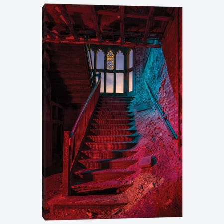 City Meth Stairs Canvas Print #NKE62} by Noel Kerns Canvas Wall Art