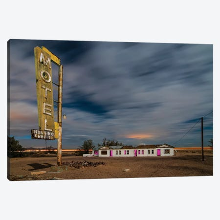 Henning Motel Revisited Canvas Print #NKE64} by Noel Kerns Art Print