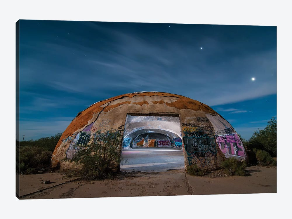 The Domes by Noel Kerns 1-piece Canvas Artwork