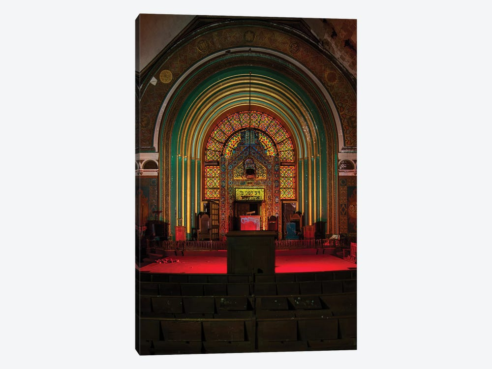 Agudas Achim North Shore by Noel Kerns 1-piece Canvas Print