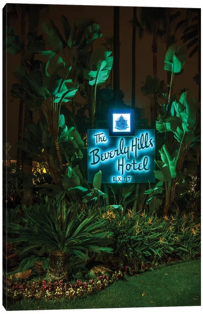 Beverly Hills Hotel Canvas Art Print