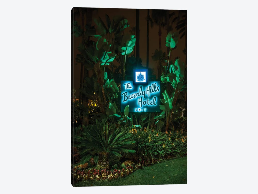Beverly Hills Hotel by Noel Kerns 1-piece Canvas Artwork