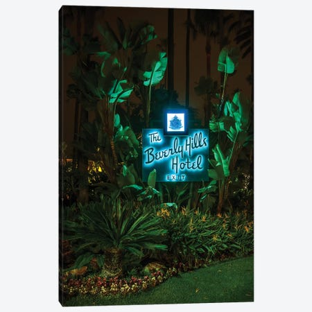 Beverly Hills Hotel Canvas Print #NKE68} by Noel Kerns Canvas Artwork