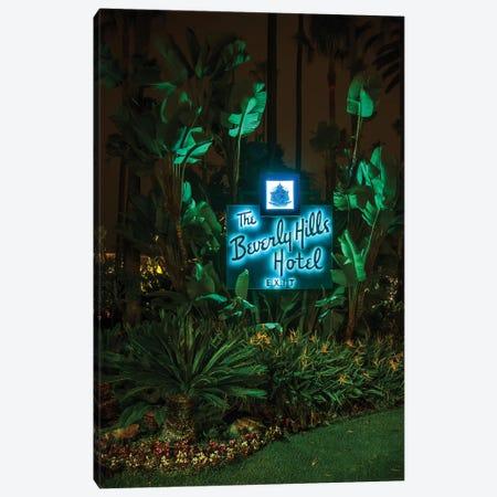 Beverly Hills Hotel Canvas Print #NKE68} by Noel Kerns Canvas Artwork