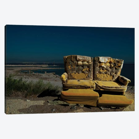 Salton Seating Canvas Print #NKE80} by Noel Kerns Canvas Wall Art