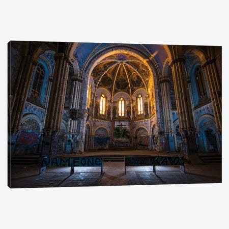 St. Boniface II Canvas Print #NKE82} by Noel Kerns Canvas Wall Art