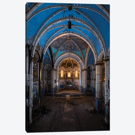 St. Boniface Portrait Canvas Print #NKE83} by Noel Kerns Canvas Artwork