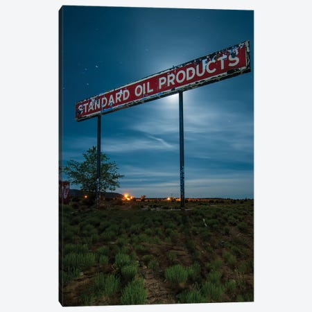 Standard Oil Products Canvas Print #NKE85} by Noel Kerns Canvas Print