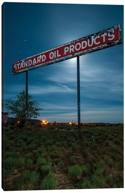 Standard Oil Products Canvas Art Print