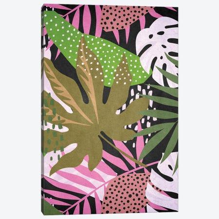 Tropical Graphic Canvas Print #NKK102} by Nikki Chu Canvas Wall Art