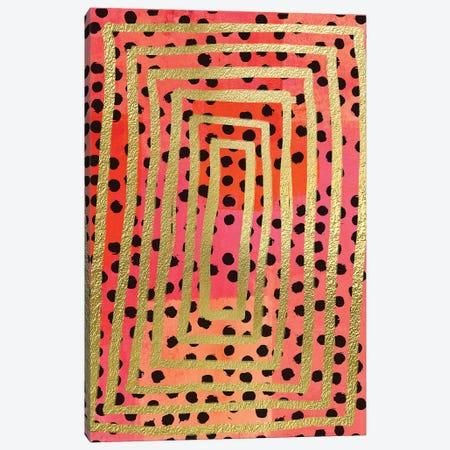 Dot Maze II Canvas Print #NKK21} by Nikki Chu Canvas Wall Art