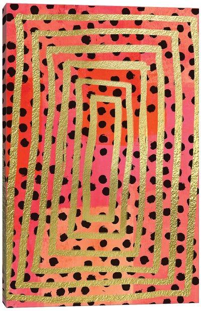 Dot Maze II Canvas Art Print