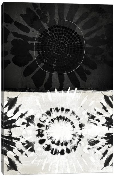 Flower Tribal III Canvas Art Print