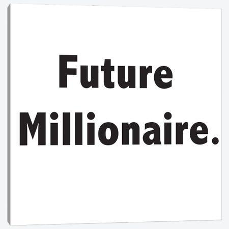 Future Millionaire 3-Piece Canvas #NKK28} by Nikki Chu Canvas Art