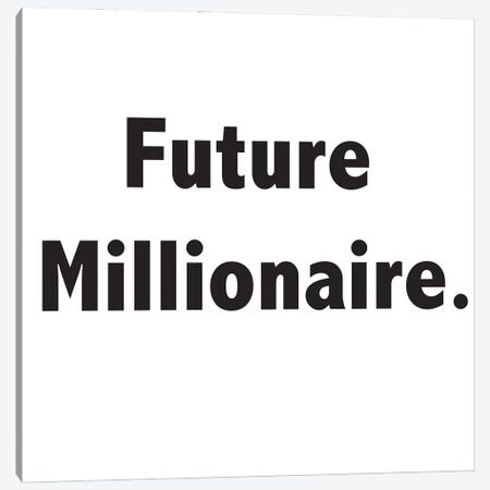 Future Millionaire Canvas Print #NKK28} by Nikki Chu Canvas Art