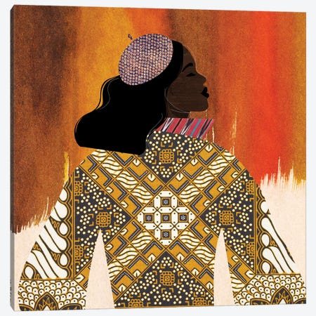 Girlie Girl I Canvas Print #NKK33} by Nikki Chu Art Print