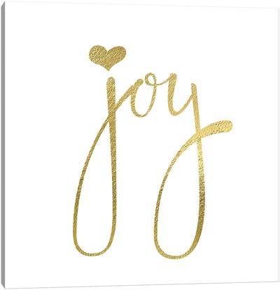 Joy Heart Canvas Art Print