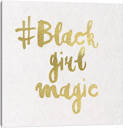 Black Girl Magic I Canvas Art Print