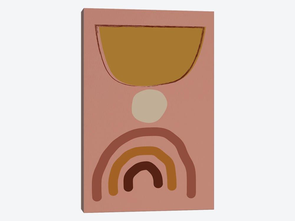 Mid Modern Shaps by Nikki Chu 1-piece Canvas Art Print