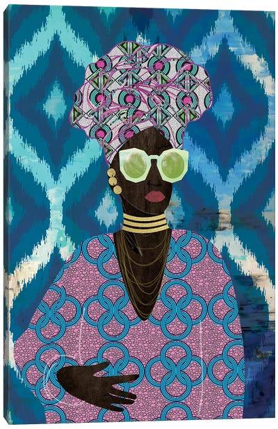 Modern Turban Queen I Canvas Art Print