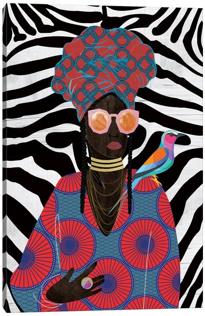 Modern Turban Queen II Canvas Art Print