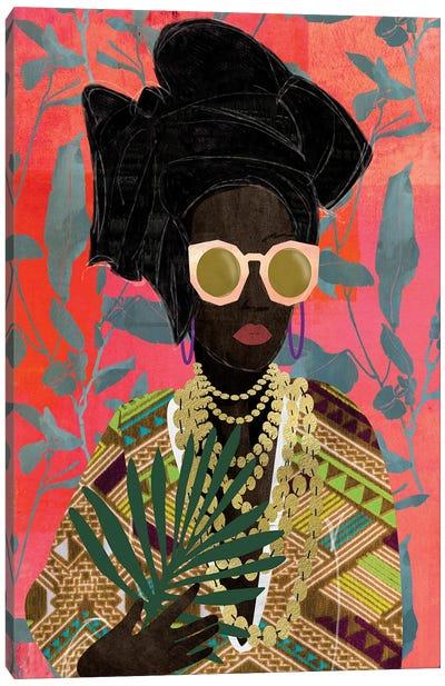 Modern Turban Woman I Canvas Art Print