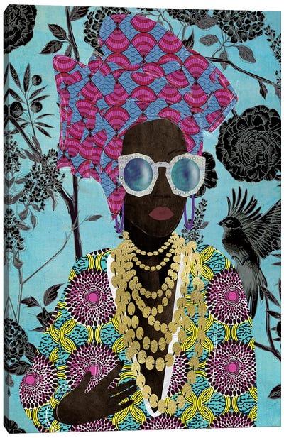 Modern Turban Woman III Canvas Art Print