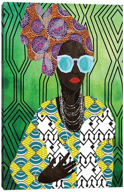 Modern Turban Woman IV Canvas Art Print