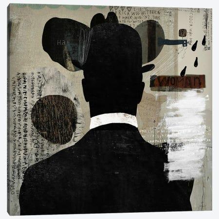 Mystery Man Canvas Print #NKK59} by Nikki Chu Art Print