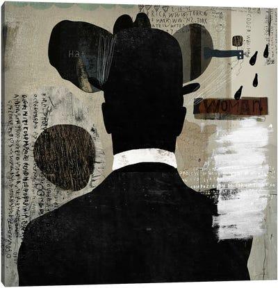 Mystery Man Canvas Art Print