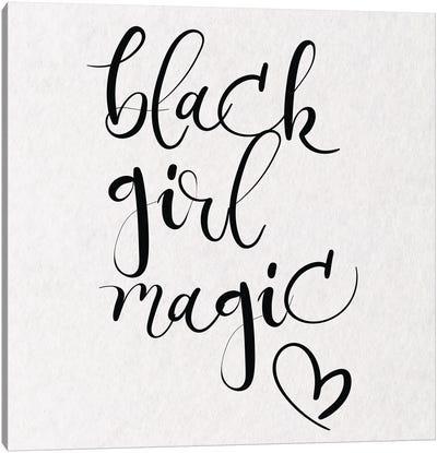 Black Girl Magic III Canvas Art Print