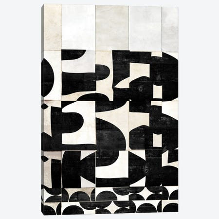 Scramble Canvas Print #NKK74} by Nikki Chu Canvas Art