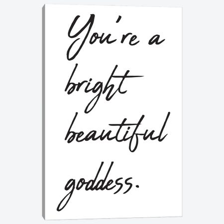 You're A Bright Beautiful Canvas Print #NKK85} by Nikki Chu Canvas Print