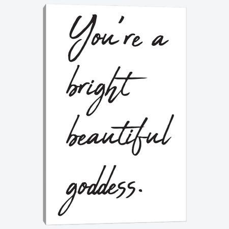 You're A Bright Beautiful Canvas Print #NKK85} by Nikki Chu Canvas Print
