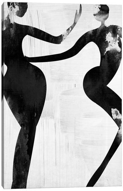 Let's Dance Love I Canvas Art Print