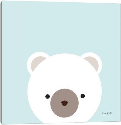 Cuddly Bear Canvas Art Print