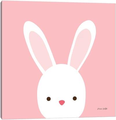 Cuddly Bunny Canvas Art Print
