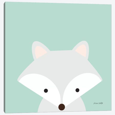 Cuddly Fox Canvas Print #NKL20} by Ann Kelle Art Print