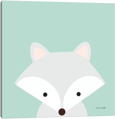 Cuddly Fox Canvas Art Print