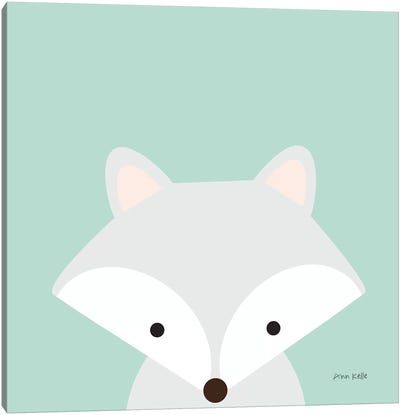 Cuddly Fox Canvas Art Print