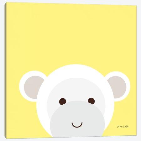 Cuddly Monkey Canvas Print #NKL21} by Ann Kelle Canvas Art Print