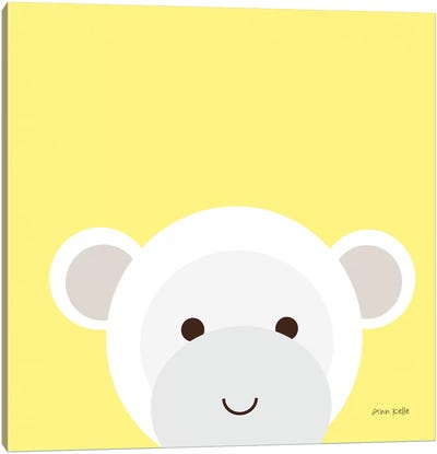 Cuddly Monkey Canvas Art Print