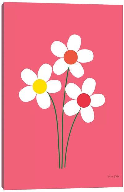 Daisies I Canvas Art Print