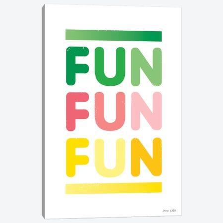 Fun Canvas Print #NKL25} by Ann Kelle Canvas Artwork