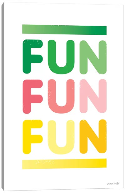 Fun Canvas Art Print