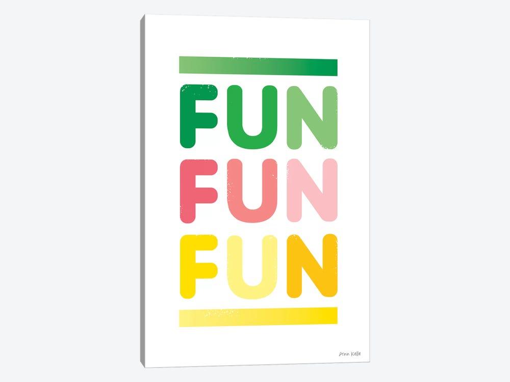 Fun by Ann Kelle 1-piece Canvas Print