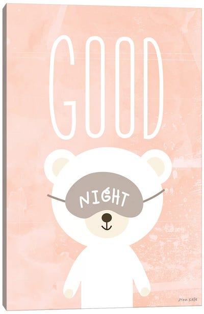 Goodnight Canvas Art Print