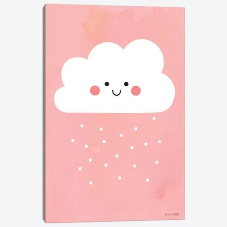 Happy Cloud I Canvas Print #NKL30} by Ann Kelle Canvas Wall Art