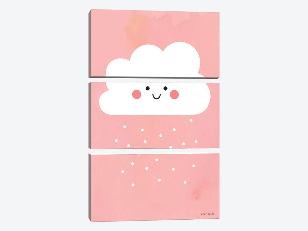 Happy Cloud I by Ann Kelle 3-piece Art Print