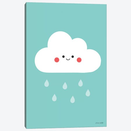 Happy Cloud II Canvas Print #NKL31} by Ann Kelle Canvas Artwork